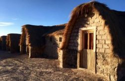 1st night's accommodation on Salar de Uyuni tour_ lodge made entirely of salt!