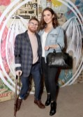 Paddy Smyth and Holly Carpenter pictured at the launch of BACARDÍ Cuatro and Ocho, which were officially introduced in true prohibition style last night at an exclusive speakeasy event off Camden Street. Pic: Marc O'Sullivan