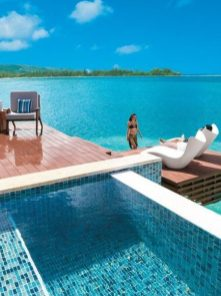 floating suites caribbean