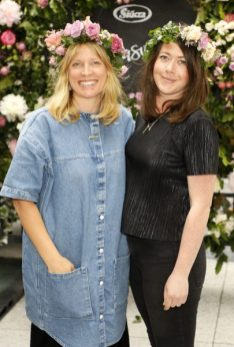 Patsie Wrafter and Orlagh Wright at the launch of Siúcra's new summer recipes by chef Catherine Fulvio held at the Woolen Mills Dublin.photo Kieran Harnett no repro fee
