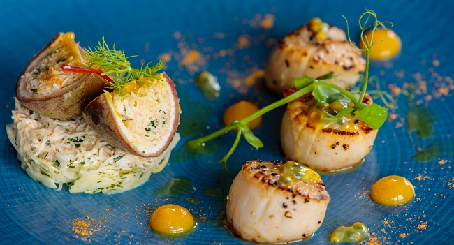 Seared Scallops Recipe - Draft House