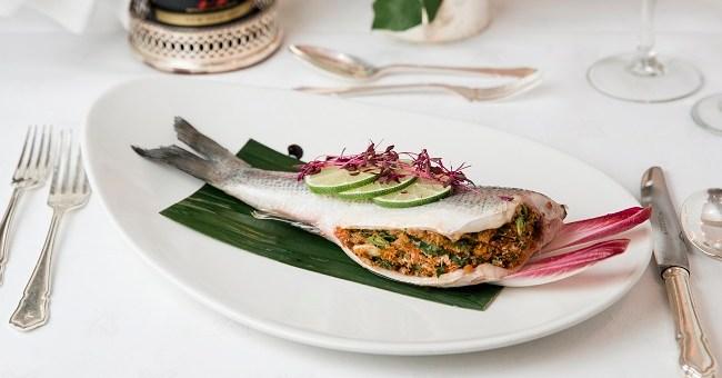 Stuffed Seabass Recipe