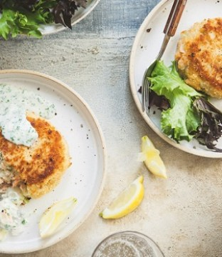 Fishcakes with Parsley Sauce Recipe by The Hairy Bikers