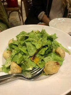cyprus halloumi salad