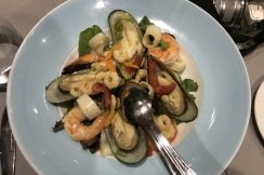 cyprus seafood salad