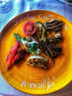 grilled veggies lunch mare