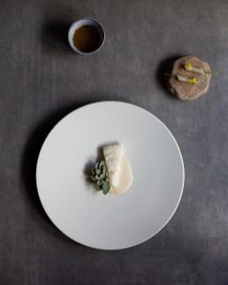 Killian Crowley Dish - Turbot, Kohlrabi, Sea Purslane (1)