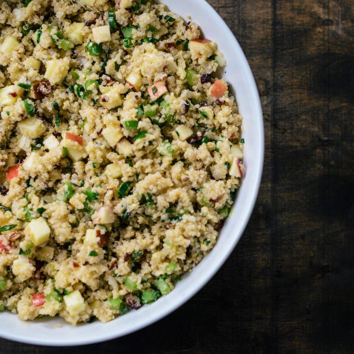 The Taste SF explains how to make quinoa in an electric pressure cooker recipe
