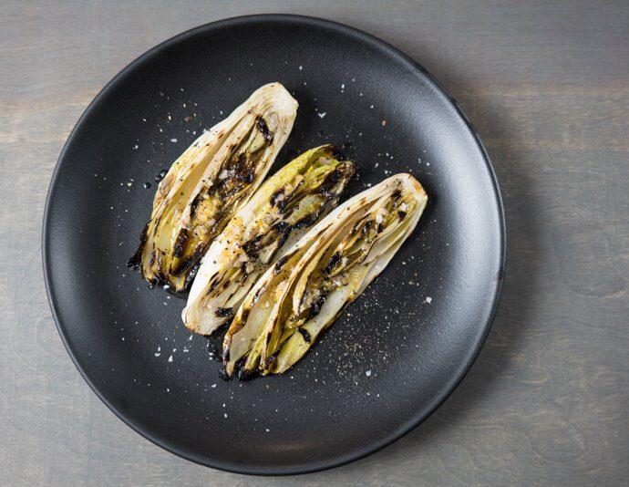 grilled belgian endive
