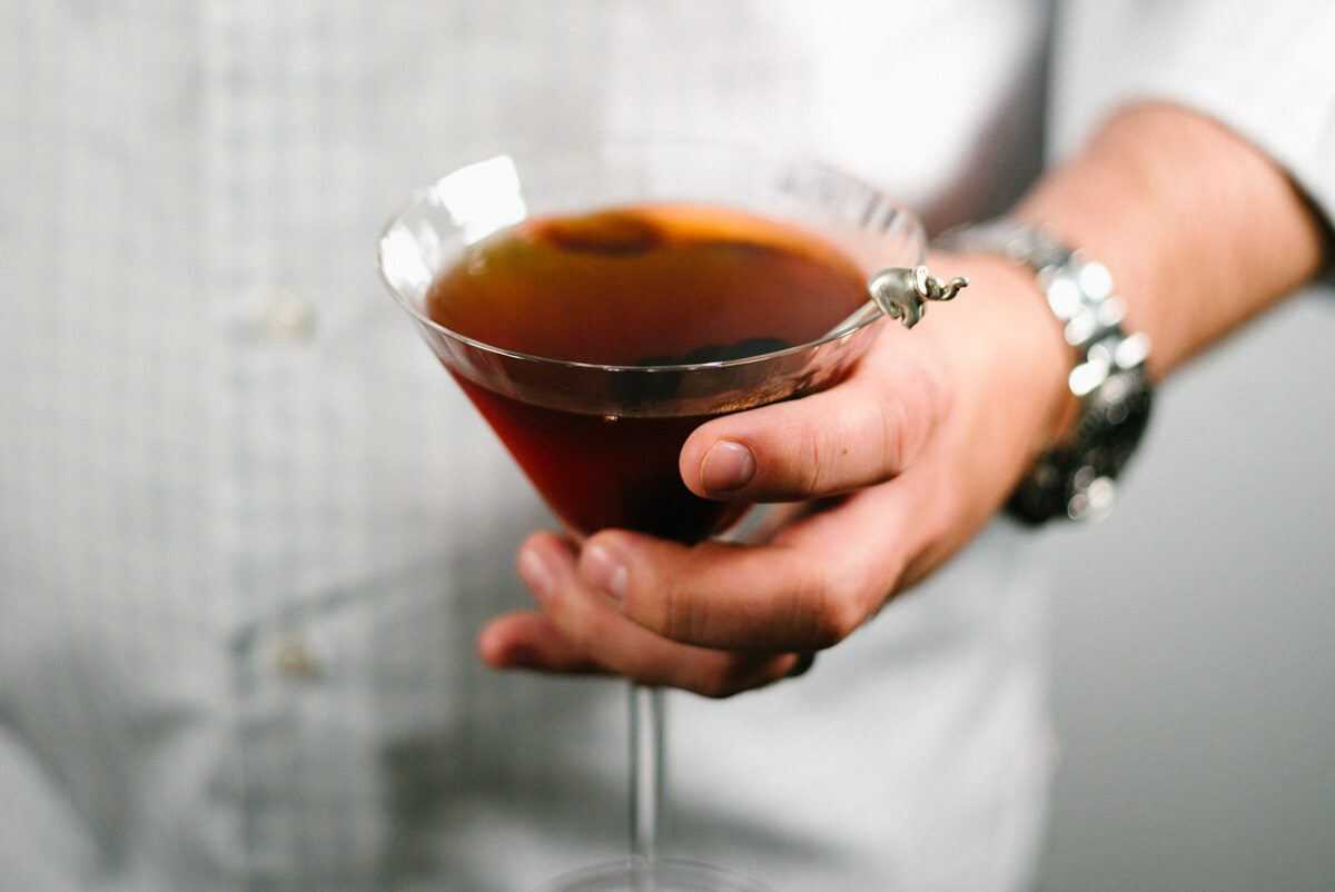 Classic Manhattan cocktail by The Taste SF