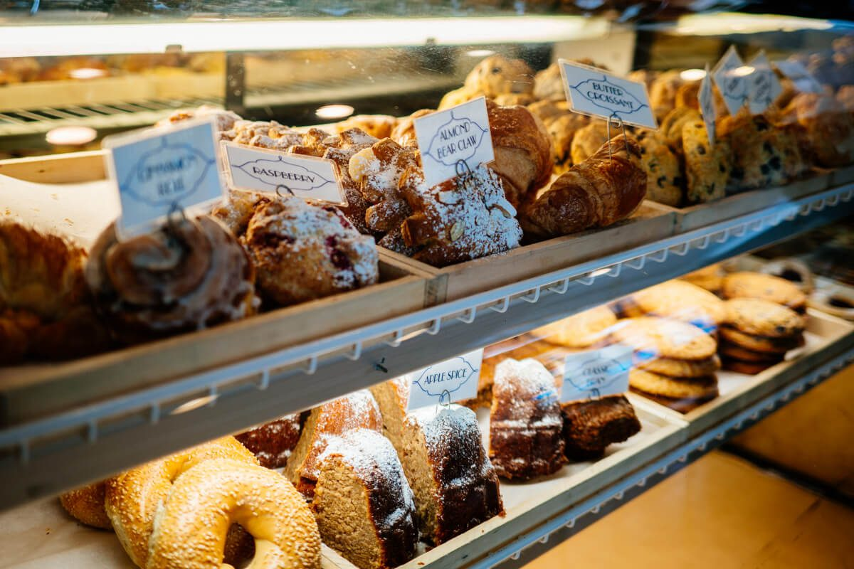 Jeannine's has a selection of pastries to choose from in Montecito | thetastesf.com #travel #breakfast #santabarbara #california