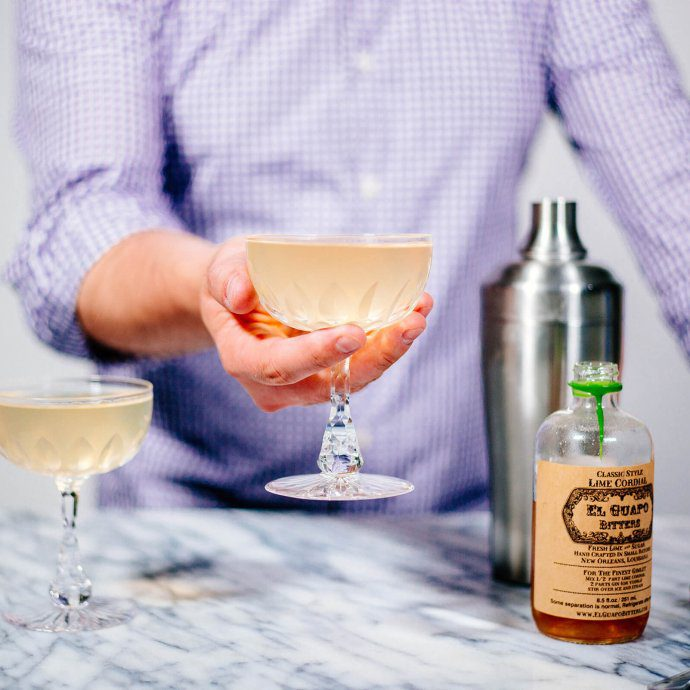El Guapo Gimlet is simple and delicious made by The Taste SF