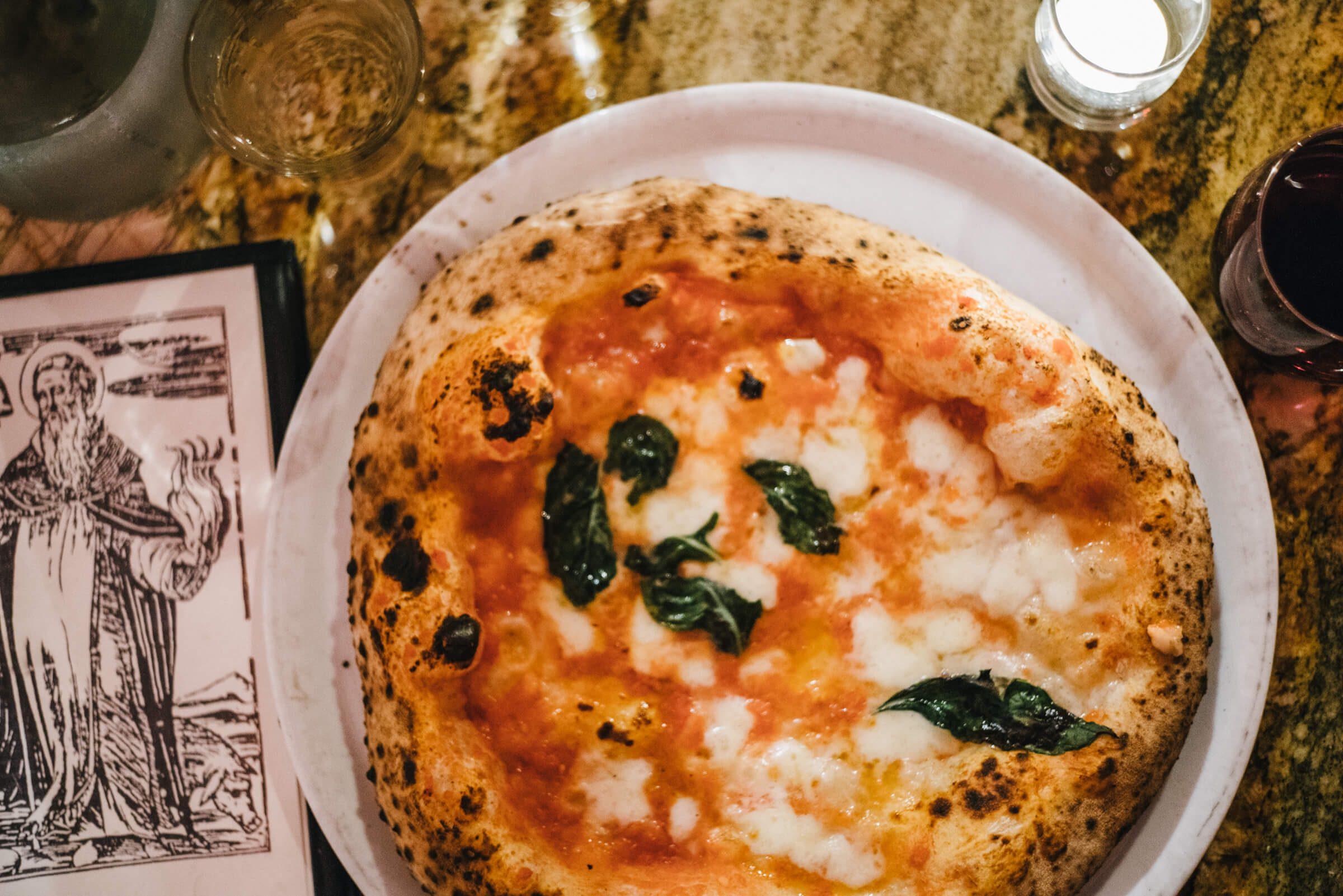 pizza and wine Neapolitan Pizzas Una Pizza Napoletana in in San Francisco with The Taste SF