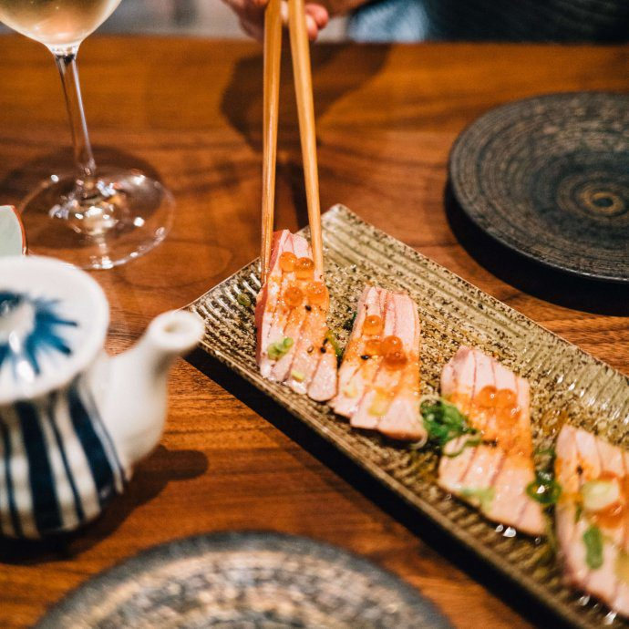 The Taste SF visits Okane restaurant in San francisco, trying their sushi