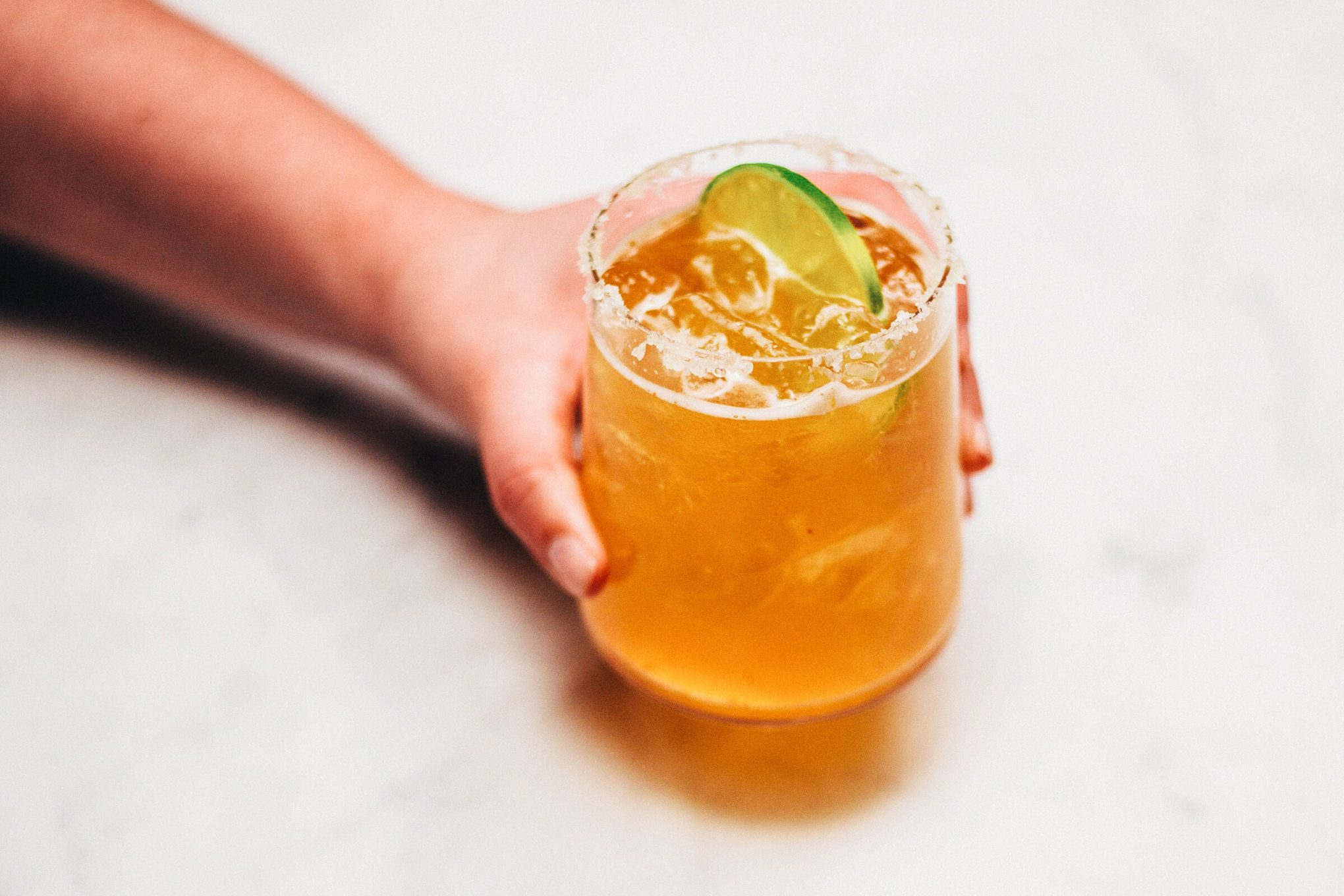 Easy Sriracha Margarita from The Taste SF