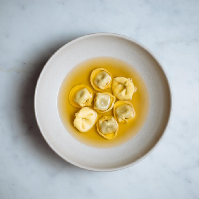 tortellini en brodo or tortellini in broth is a simple flavorful italian dish from bologna made by The Taste SF