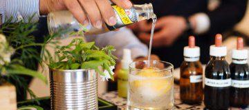 Hotel Caesar Augustus Bar + Lemon Thyme Gin & Tonic