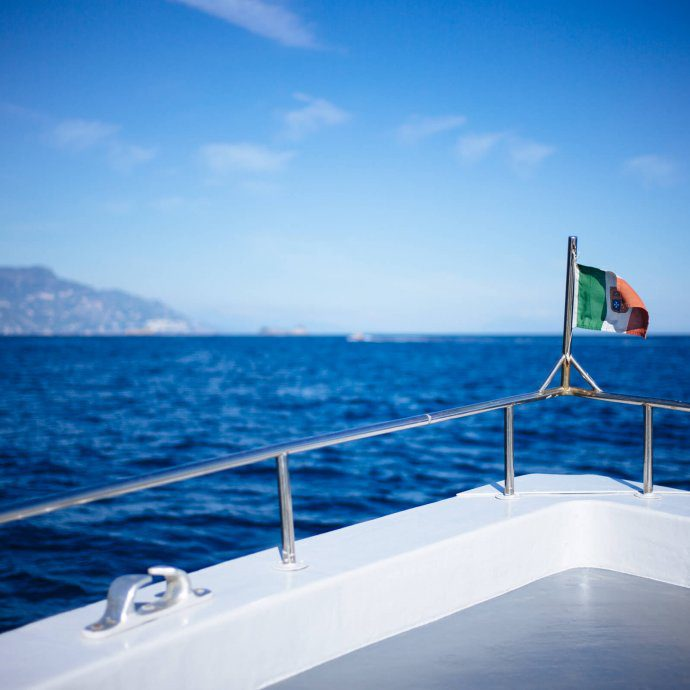 The Taste SF recommends a Boat ride in Capri and the Amalfi Coast during your trip to Italy