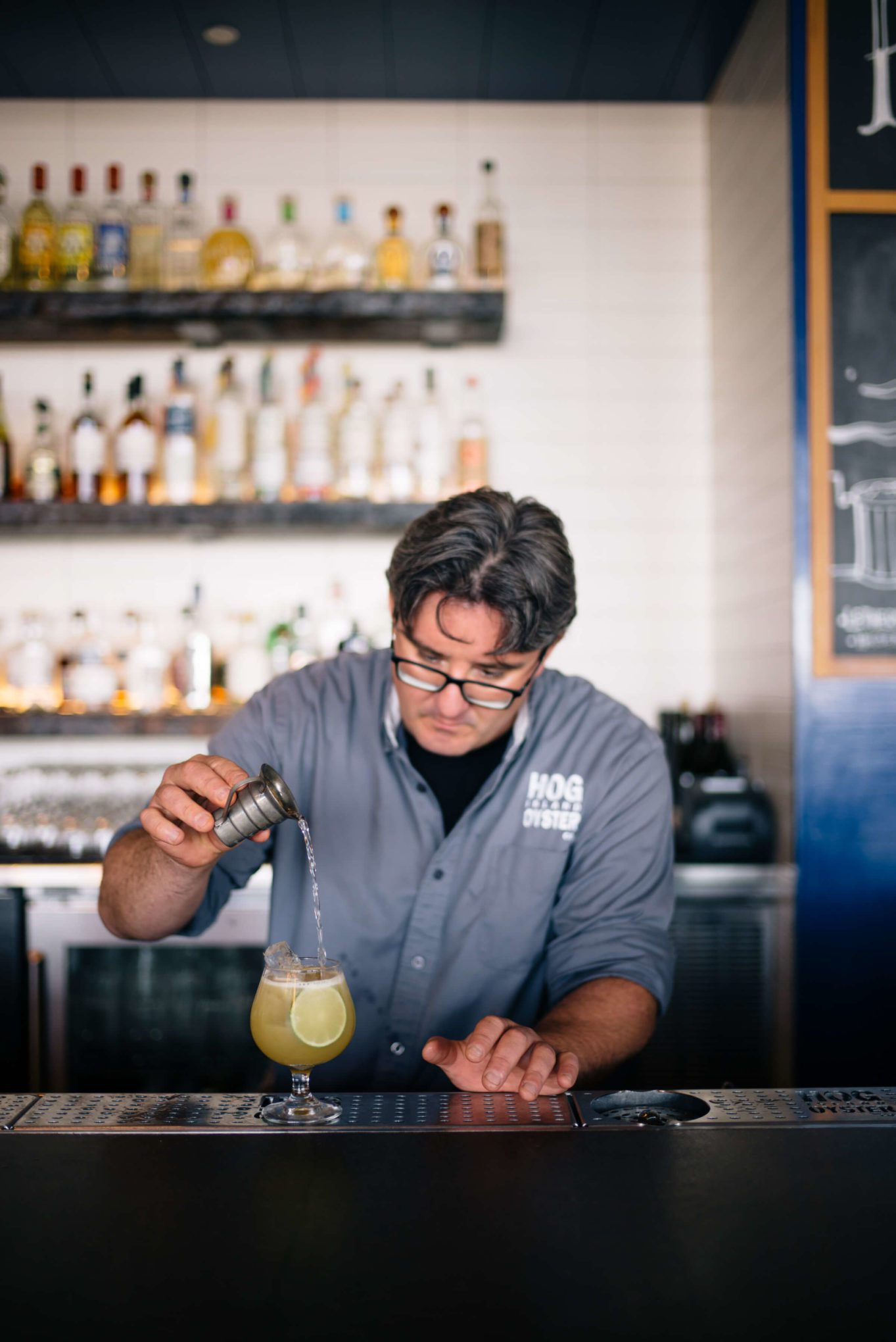 Summer Cocktails: Hog Island Saul Ranella Sacred Cenote Mezcal Amaro Cocktail Recipe, restaurant recipe, The Taste SF
