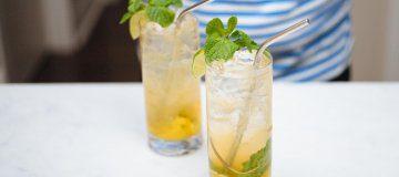 Shanghai Terrace's Ning Sling Cocktail