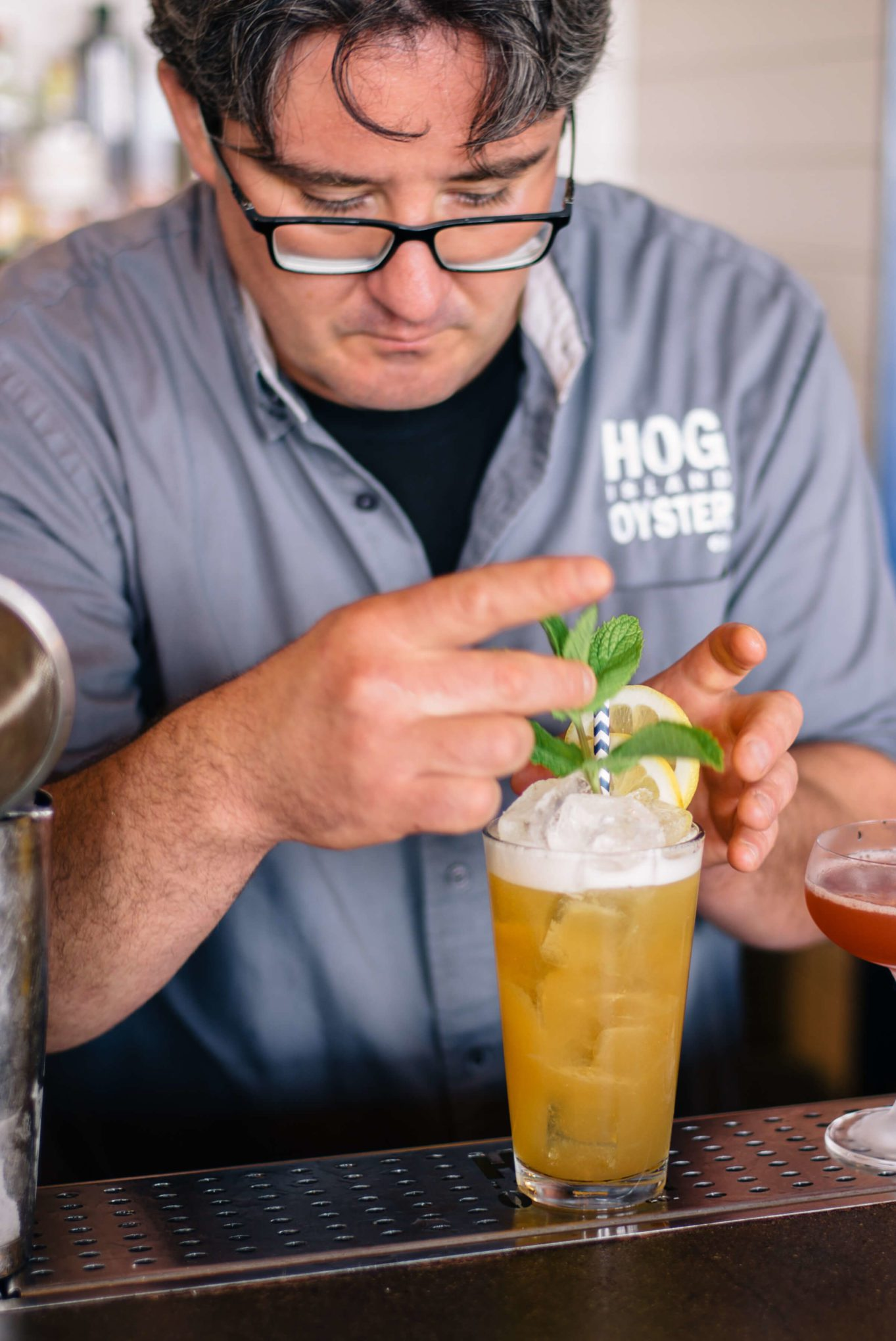 Pacific Drift Beer Cocktail from Hog Island Oyster Company, The Taste SF