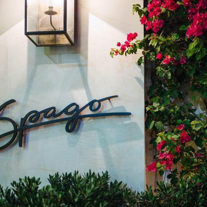 Visit Wolfgang Puck's best restaurant in Beverly Hills, LA, Spago Beverly Hills, Los Angeles, The Taste SF