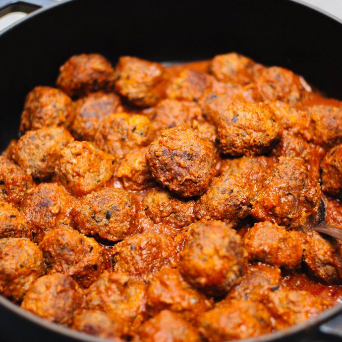 Our favorite party appetizer for the holidays are Albondigas, The Taste SF