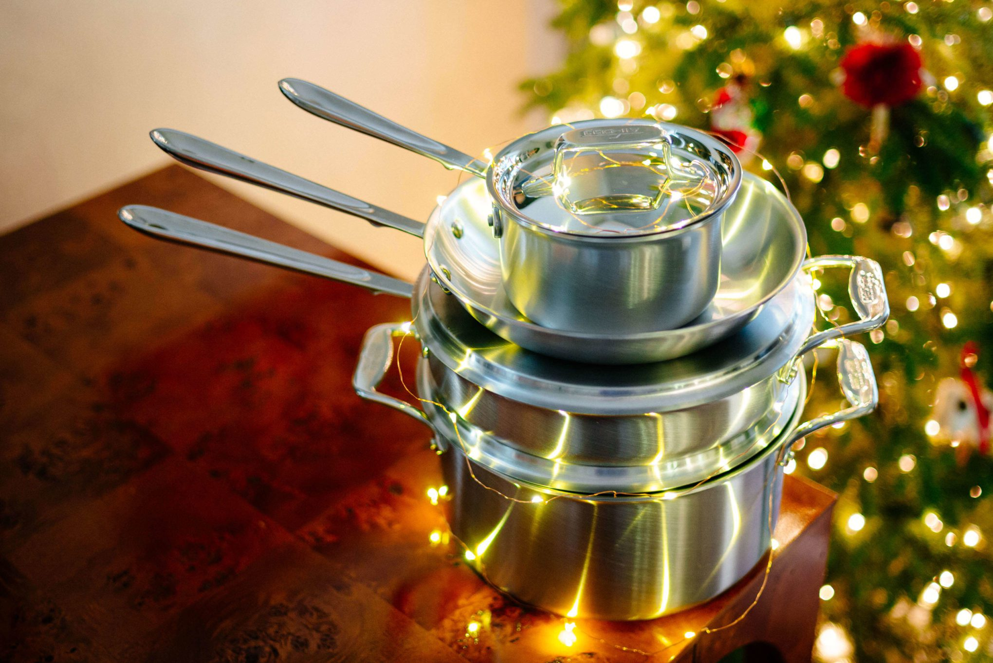 Win a set of all clad pans from the taste sf and all clad
