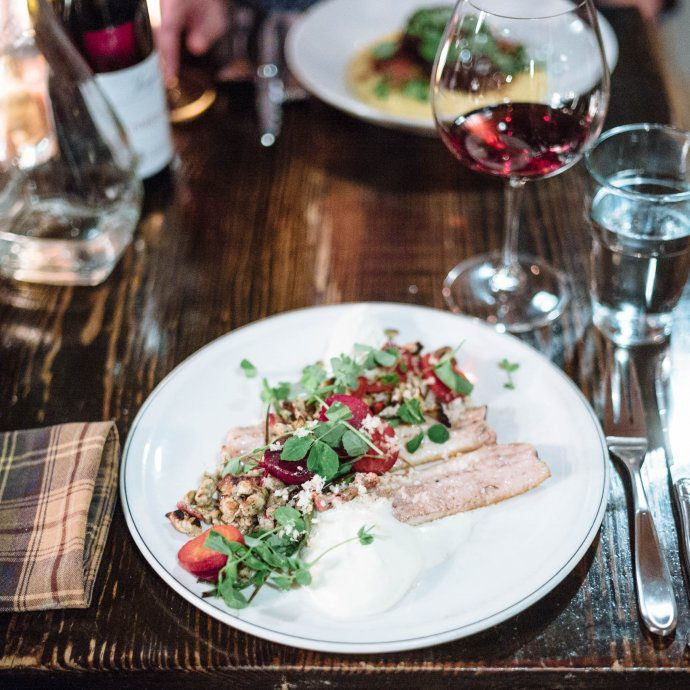 Woodberry Kitchen is the best restaurant in Baltimore for local farm to table cooking, try the trout if it's on the menu, The Taste SF #baltimore #restaurant
