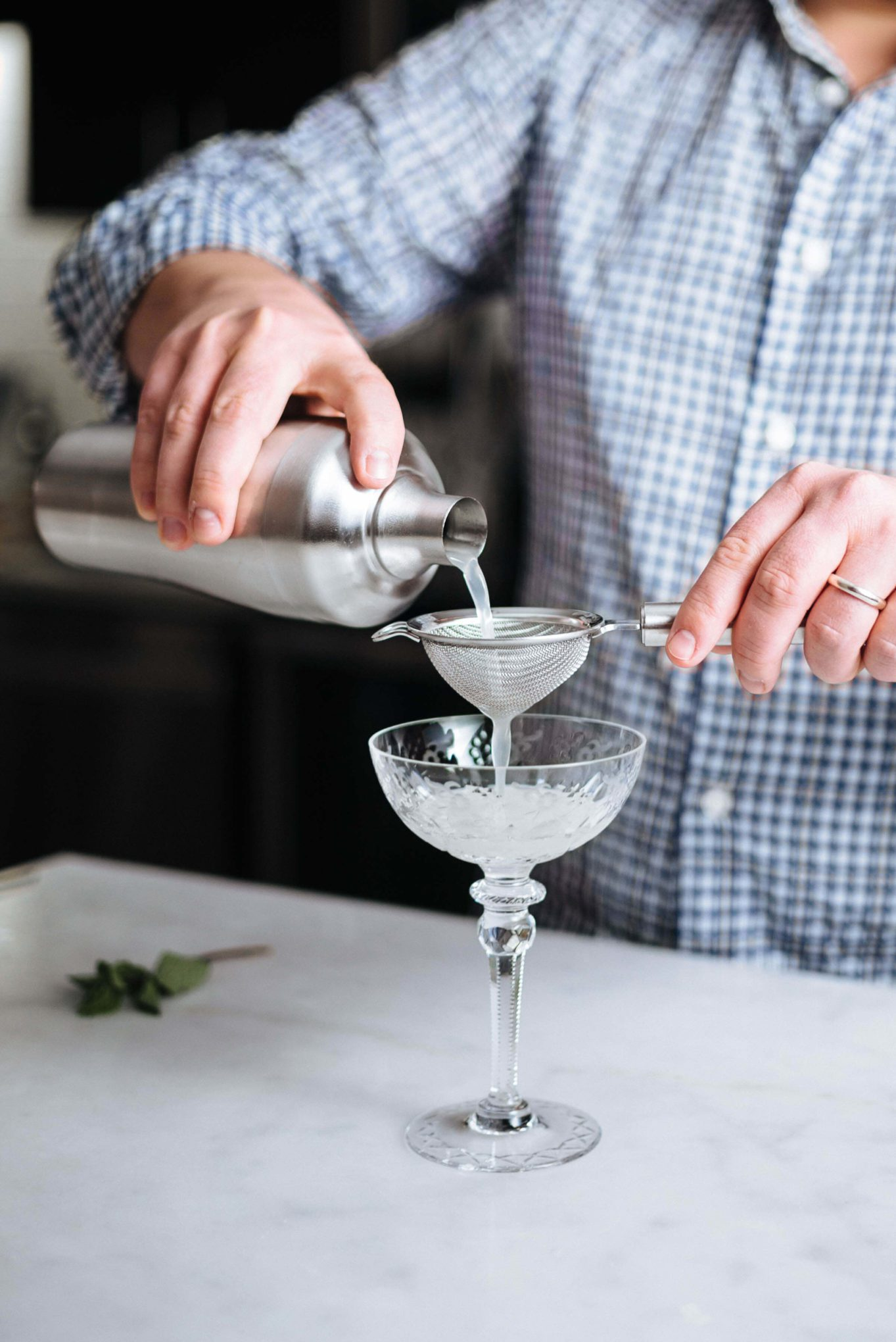 We should all be making more gin cocktails - try the southside cocktail with mint and agave - thetastesf