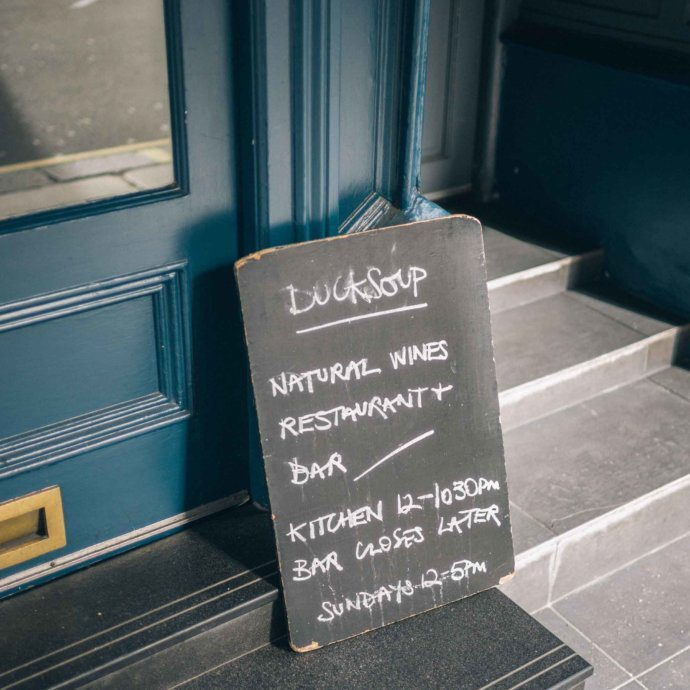 For the best wine bar in London, The Taste SF travel and culinary bloggers and photographers recommends going to Ducksoup in Soho.