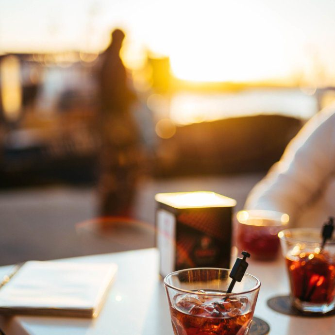 The Taste SF recommends that you visit this Italian Beach town that no one knows about - Camogli, Italy. Try a Negroni or a sbagliato Negroni