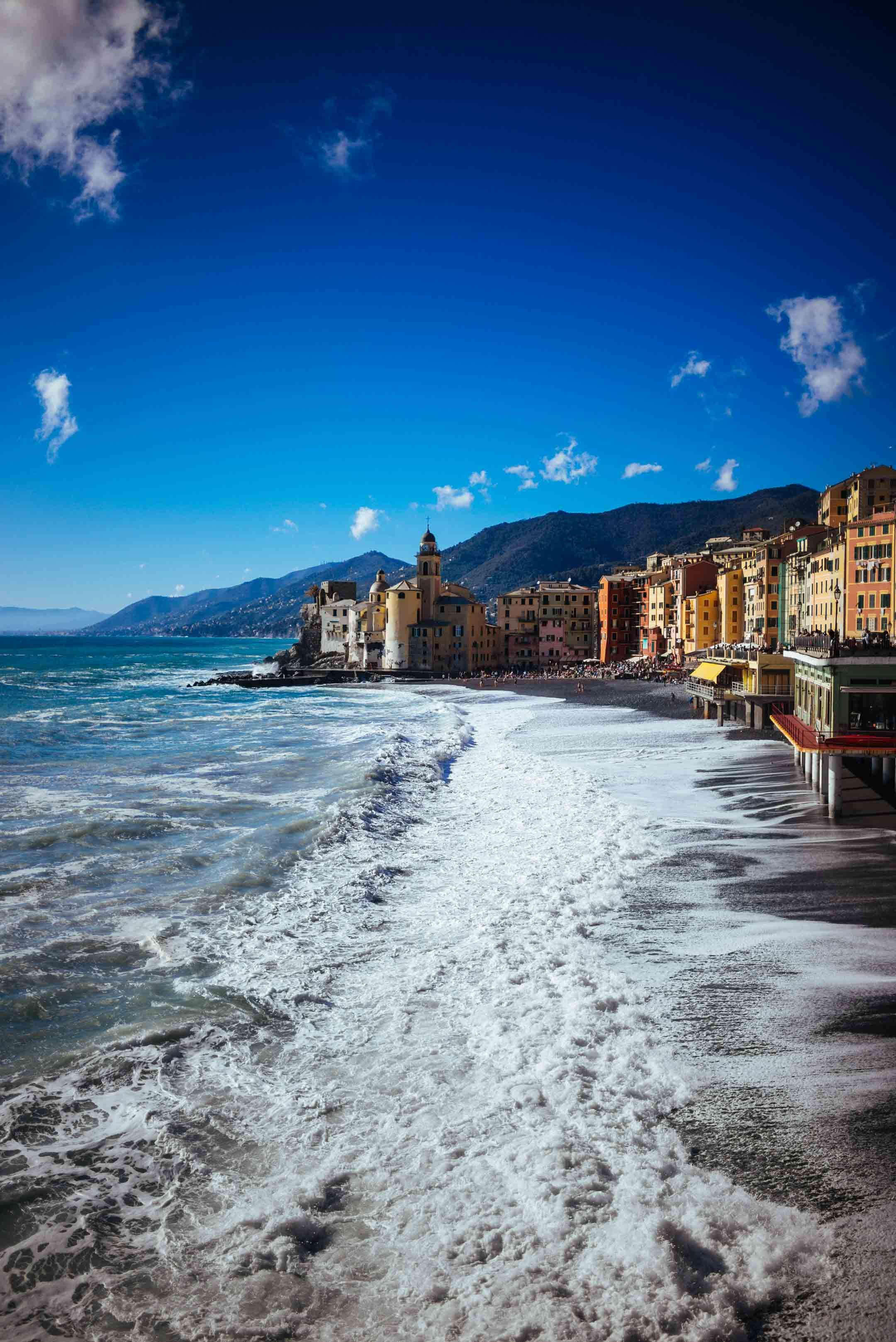 The Taste SF recommends that you visit this Italian Beach town that no one knows about - Camogli, Italy.