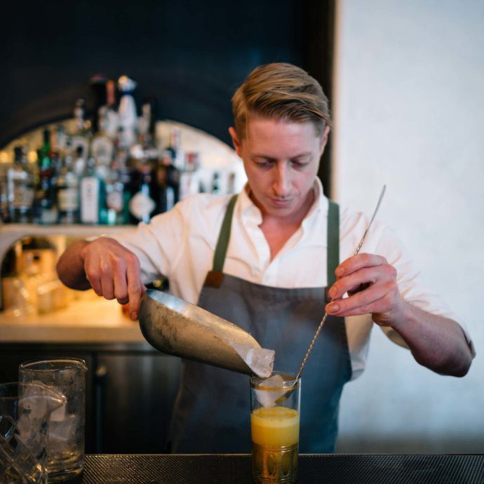 The Taste SF recommends cocktails at Hollywood Bar, Restaurant, and Butcher shop - Gwenin Los Angeles, owned by Celebrity Chef Curtis Stone.