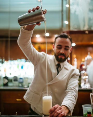 Classic Ramos Gin Fizz