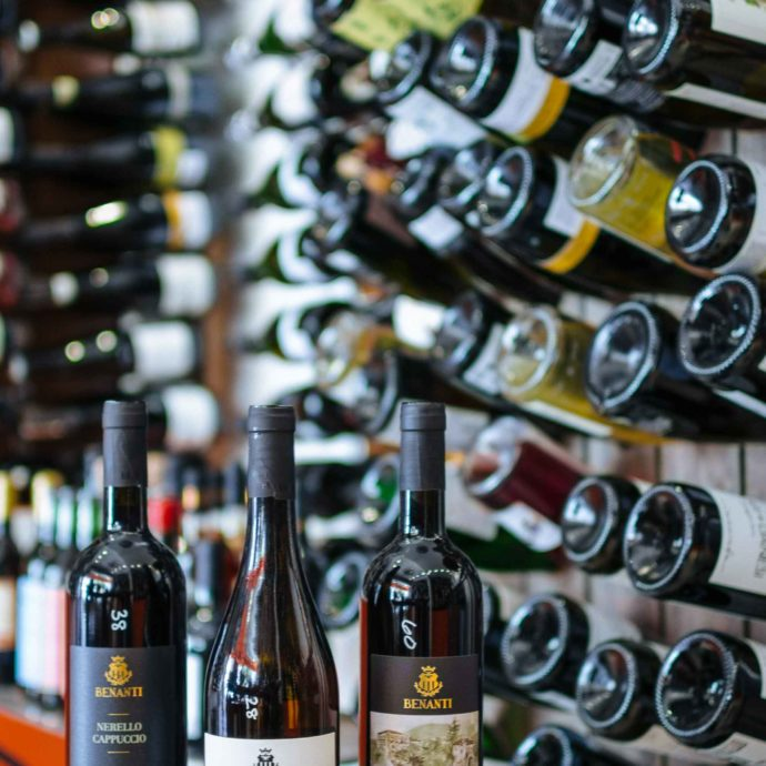 Get a bottle of Benanti Wine from Sicily at Biondivino Wine Shop in San Francisco