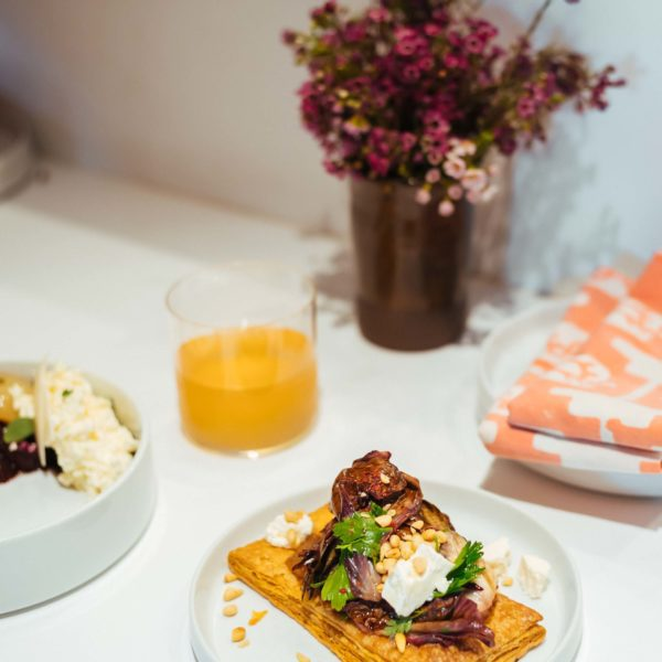 The Taste SF recommends brunch or lunch on Hollywood Boulevard at Kismet in Los Angeles . Try the beet salad or the roasted radicchio tart