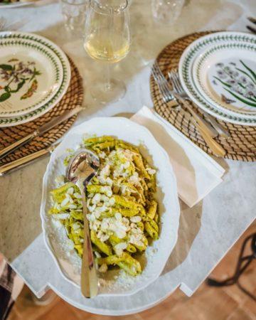 Sicilian Almond Pesto Pasta Recipe: Pesto alla Trapanese