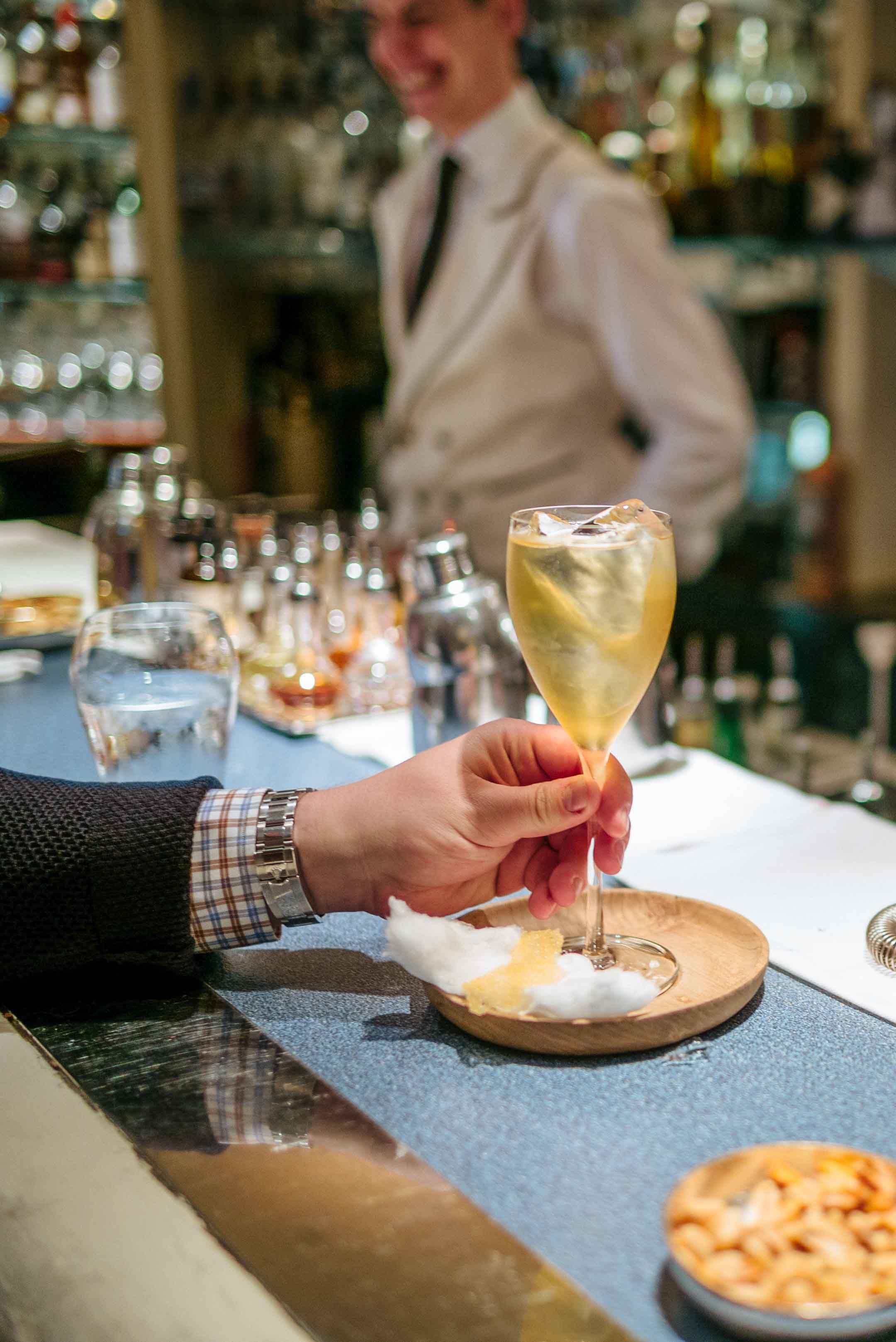 Visit The American Bar in London at The Savoy Hotel for cocktails - try this cocktail with