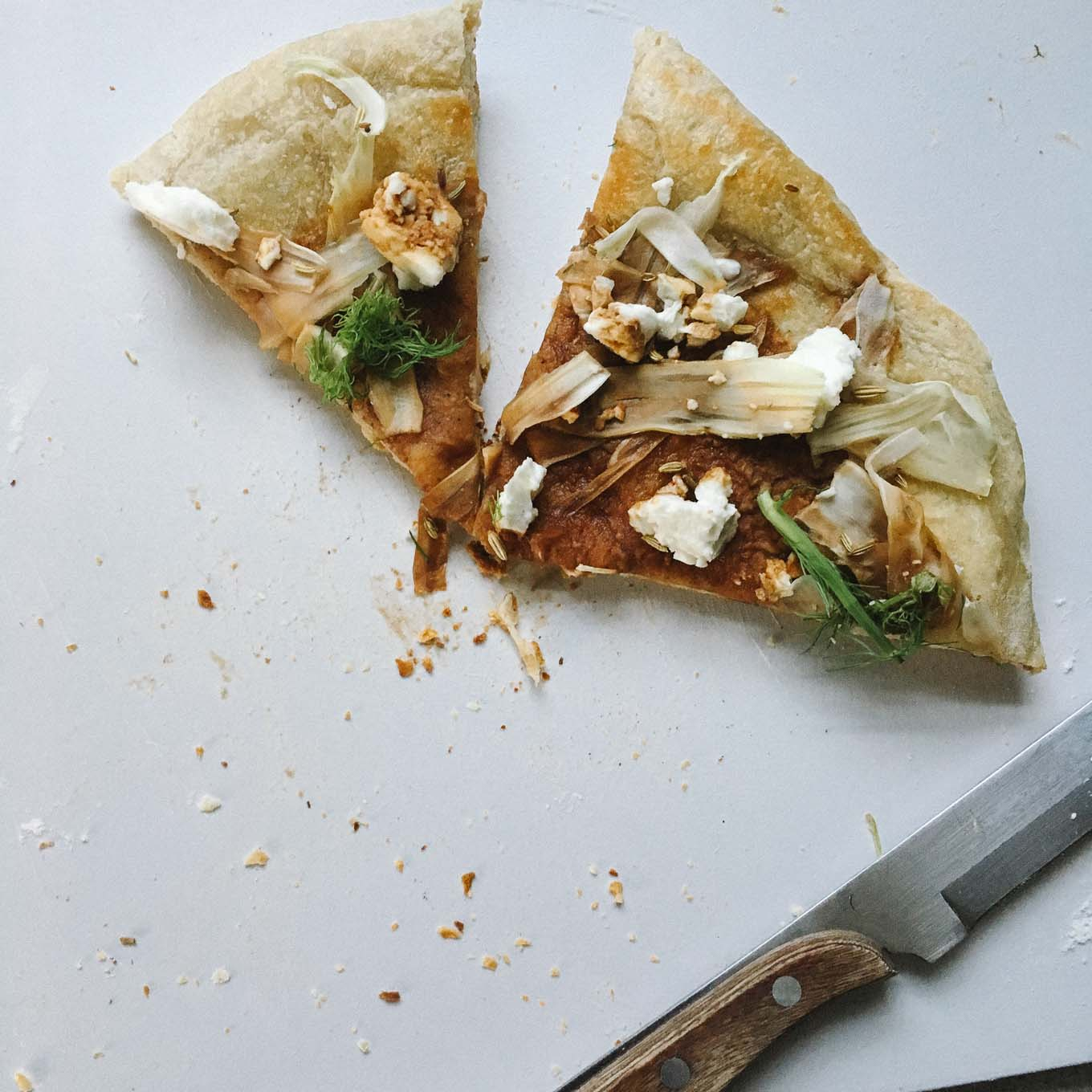 Flatbread with Fennel and Feta | the Tastiest Book