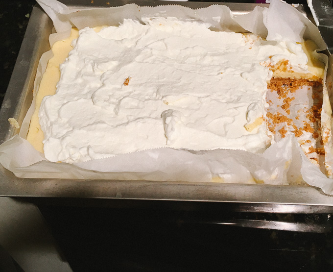 Lemon Pie Bars | the Tastiest Book
