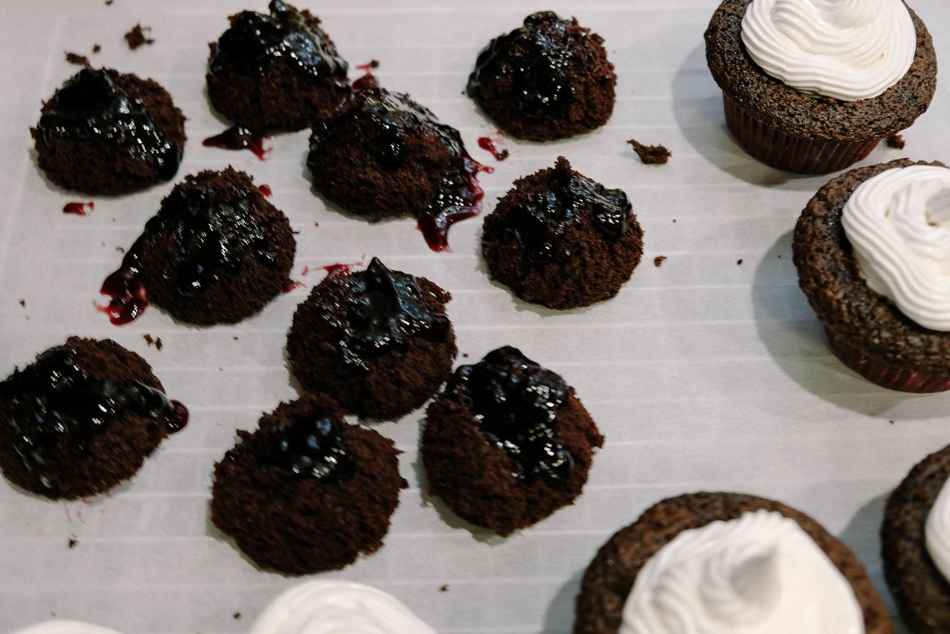 Black Forest Cupcakes | the Tastiest Book