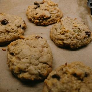 Oatmeal-Raisin Cookies | thetastiestbook.com