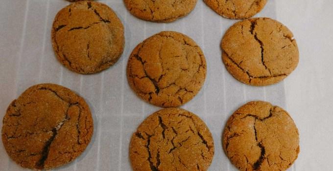 Molasses Cookies | the Tastiest Book