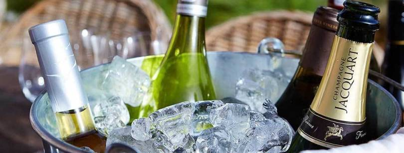 French wine chilled