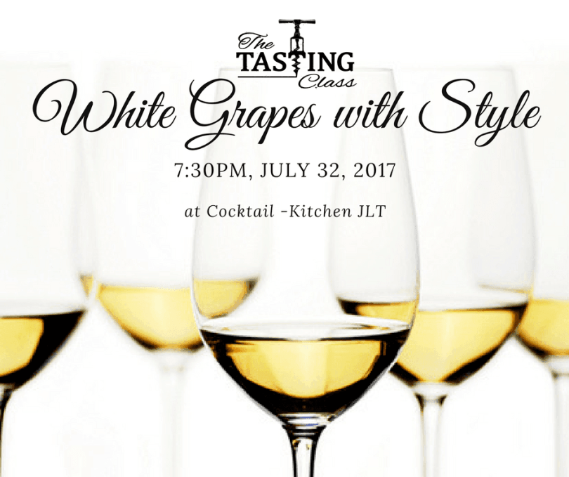 White Grapes with Style event