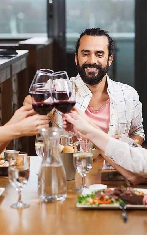 Wine tasting event in dubai