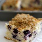 Blueberry Buttermilk Coffee Cake with Streusel Topping