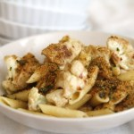 Roasted Cauliflower Pasta with Toasted Breadcrumbs and Pecorino