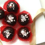 Chocolate Ganache Cake Truffles